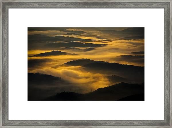 Wva Sunrise 2013 June II Framed Print