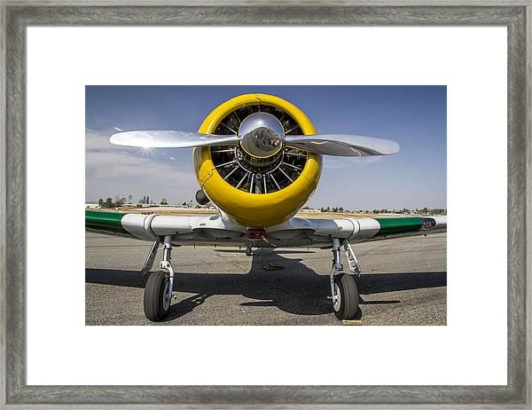 Wwii Fighter 2 Framed Print