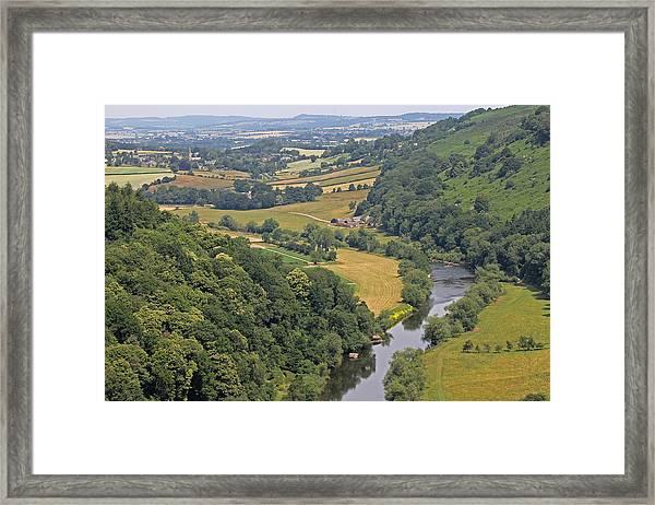 Wye Valley Framed Print