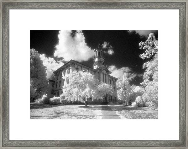 Wyoming County Courthouse Framed Print