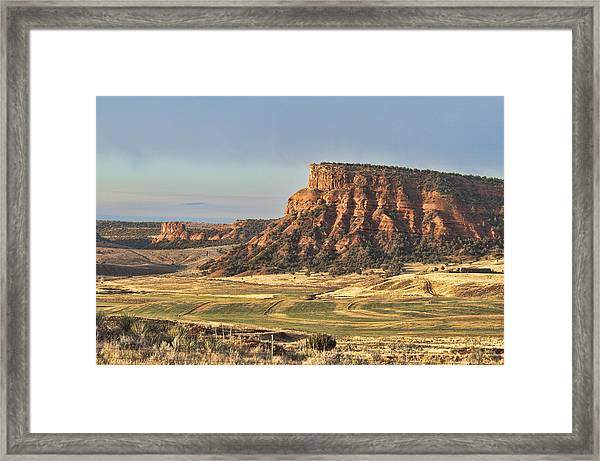 Framed Print featuring the photograph Wyoming by David Armstrong