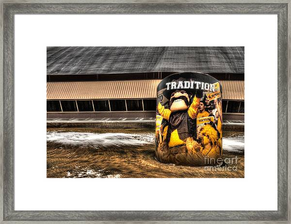 Wyoming Tradition Framed Print