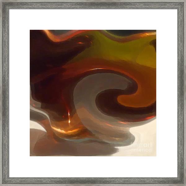 Yanged Framed Print