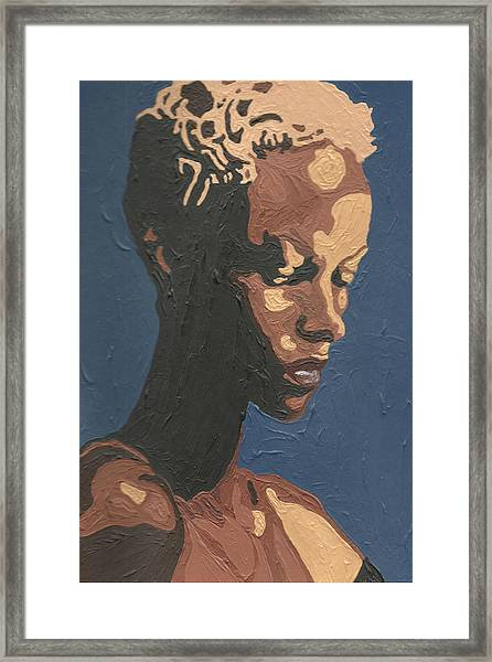 Yasmin Warsame Framed Print