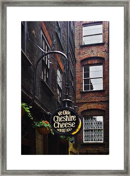 Ye Olde Pub Framed Print