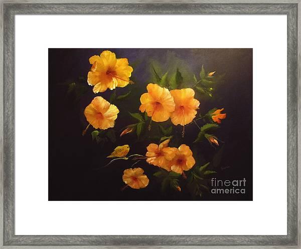 Yellow Bird Framed Print by Sharon Burger