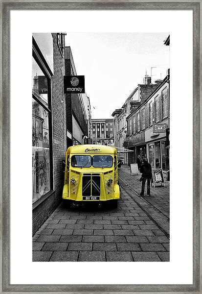 Yellow Food Framed Print