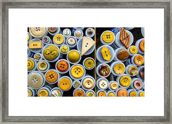Yellow Palate Framed Print