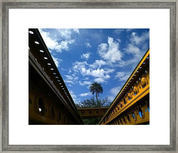 Yellow Steel One Framed Print