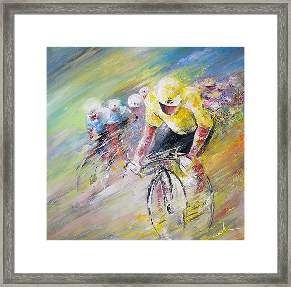 Yellow Triumph Framed Print
