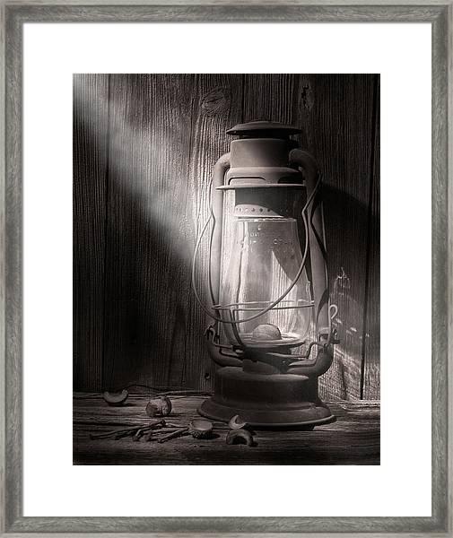 Yesterday's Light Framed Print