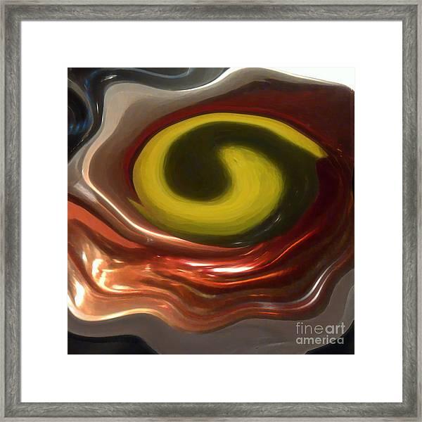 Yinged Framed Print