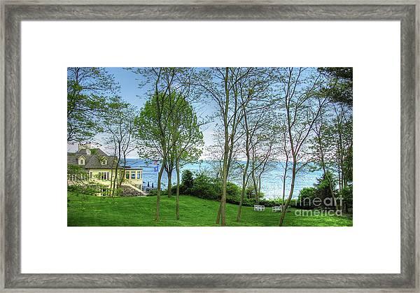 York Framed Print