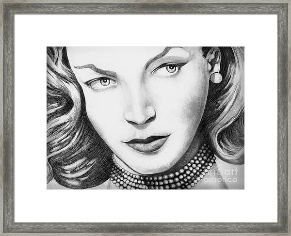 You Know How To Whistle Framed Print