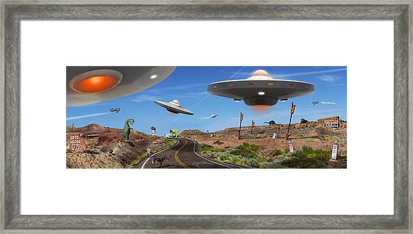 You Never Know . . . Panoramic Framed Print