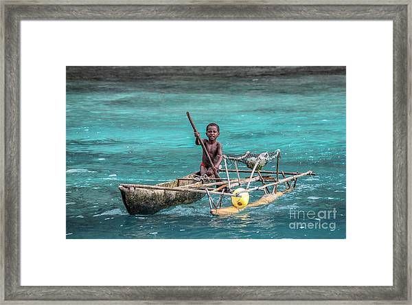 Young Seaman Framed Print