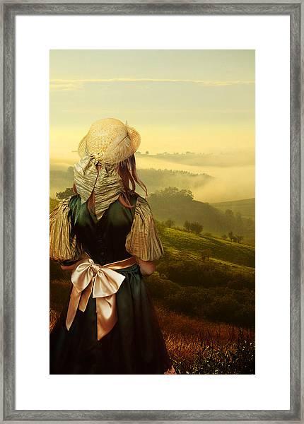 Young Traveller Framed Print