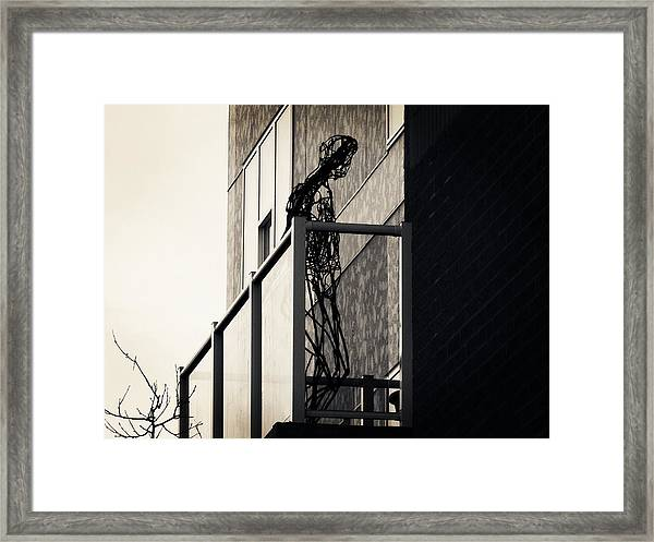 Your Own Cage Framed Print