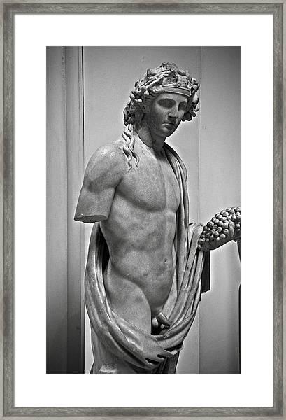 Youthful Dionysus Framed Print