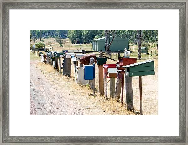 You've Got Mail Framed Print