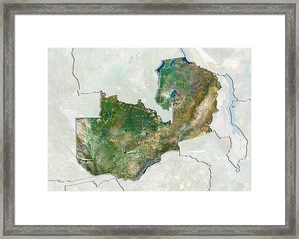 Zambia Framed Print