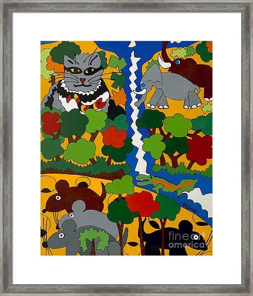 Zane Grey In Africa Framed Print