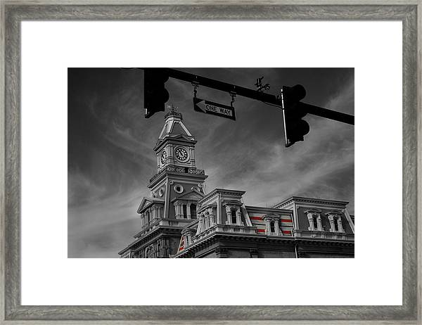 Zanesville Oh Courthouse Framed Print