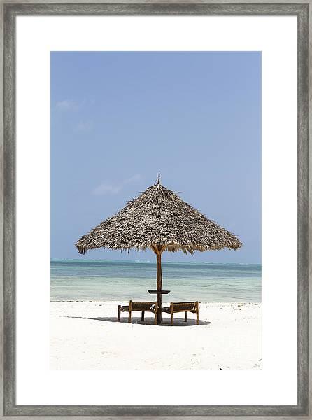 Zanzibar Framed Print by Pier Giorgio Mariani
