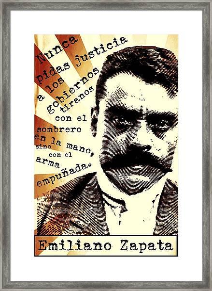 Zapatismo Framed Print