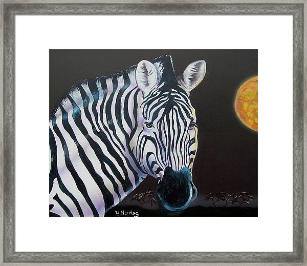 As Night As Day  Framed Print