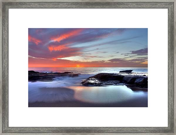Zen Set Framed Print