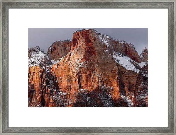 Zion Framed Print