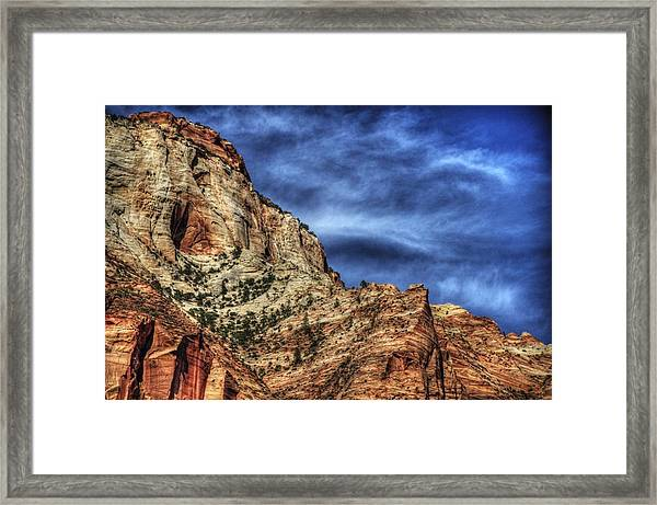 Zion Face 695 Framed Print