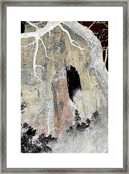 Zion Tea Framed Print