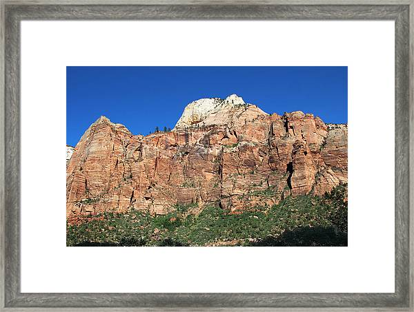 Zion Wall Framed Print