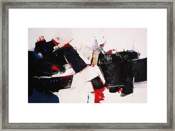 Burst Framed Print by Mohamed KHASSIF