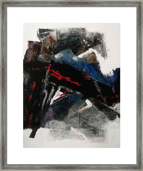 Calligraphy 2 Framed Print by Mohamed KHASSIF