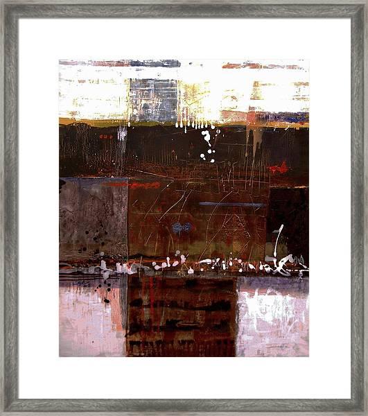 Testament Framed Print by Mohamed KHASSIF