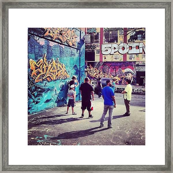 5 Pointz Framed Print