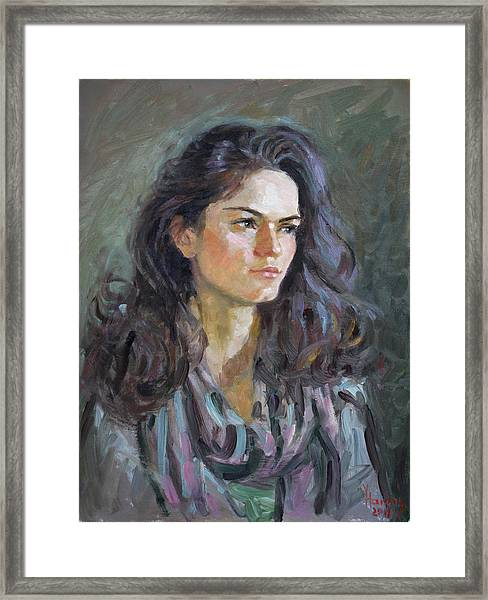 Ana Framed Print