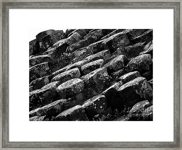 Another View Of The Giants Causeway Framed Print