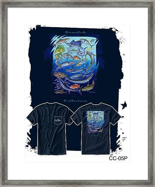 Atlantic Gamefish Framed Print