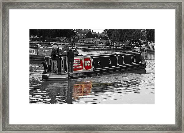 Avon Riverboat Framed Print