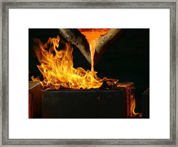 Blood Of The Earth I Framed Print