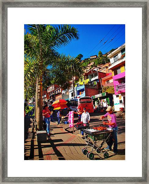 Framed Print featuring the photograph Candy Man by Skip Hunt