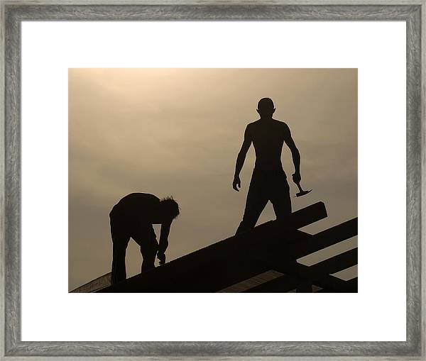 Carpenters Framed Print
