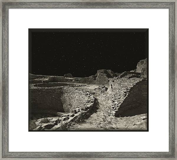 Chaco Canyon Framed Print