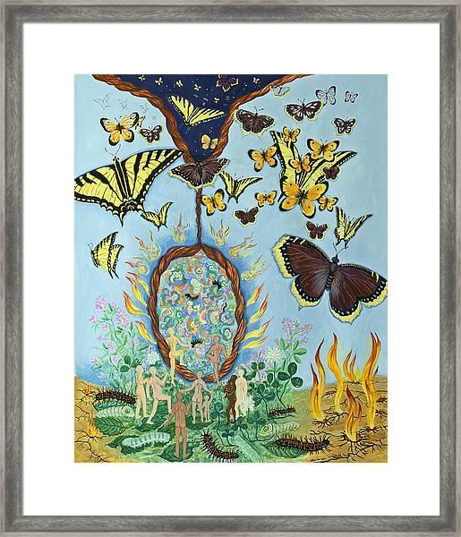 Chrysalis For Humanity Framed Print