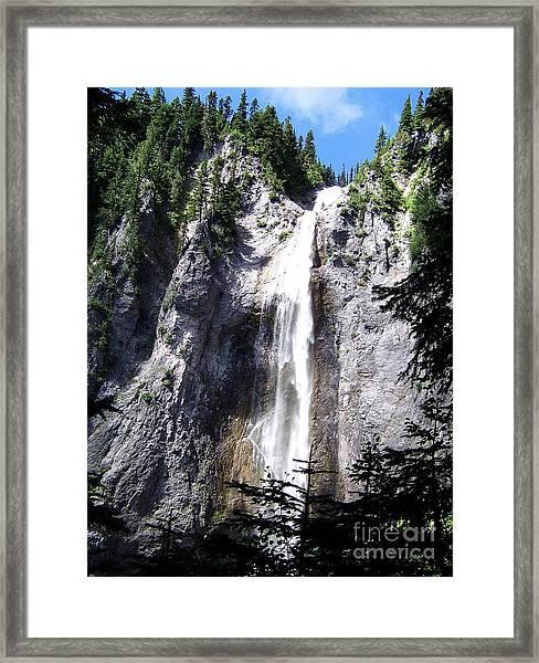 Comet Falls Framed Print