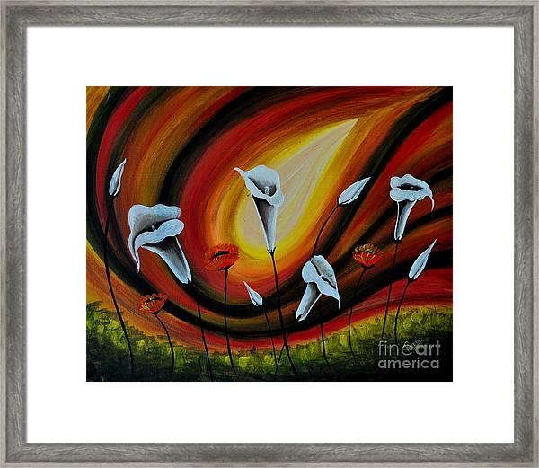 Dancing Callas Framed Print